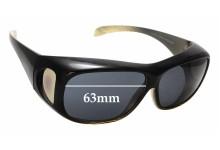 Sunglass Fix Replacement Lenses for The Cancer Council Australia 2112L-B Jervis - 63mm wide