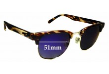 Sunglass Fix Replacement Lenses for Cancer Council Atherton - 51mm wide