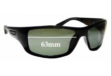 Sunglass Fix Replacement Lenses for The Cancer Council Australia Burleigh - 63mm wide