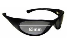 Sunglass Fix Replacement Lenses for Cancer Council Logan 2048L-K - 65mm wide