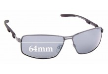 Sunglass Fix Replacement Lenses for Cancer Council Quirindi - 64mm wide