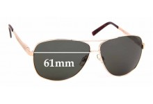 Sunglass Fix Replacement Lenses for The Cancer Council BroadBeach - 61mm Wide