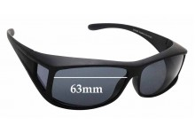 Sunglass Fix Replacement Lenses for The Cancer Council Australia Culburra - 63mm wide