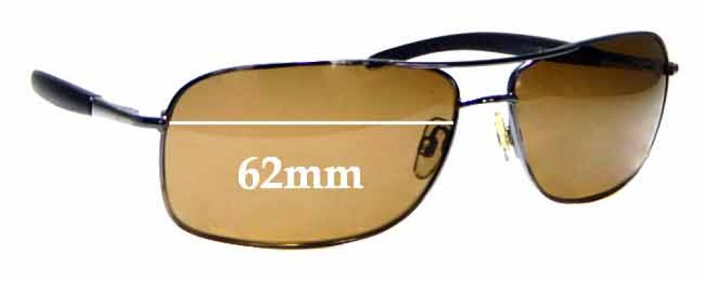 Sunglass Fix Replacement Lenses for The Cancer Council Australia Lincoln - 62mm wide