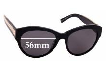 Sunglass Fix Replacement Lenses for Carla C Zampatti Sun RX 01- 56mm Wide