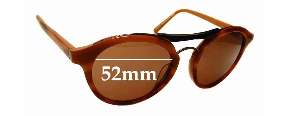 Sunglass Fix Replacement Lenses for Carla Zampatti Sun Rx 06 - 52mm Wide