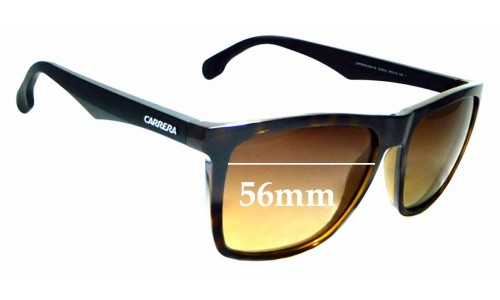 Sunglass Fix Replacement Lenses for Carrera 5041/S - 56mm wide