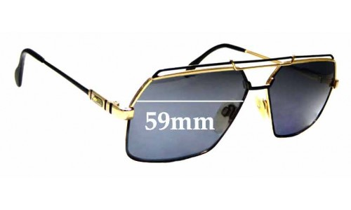 Sunglass Fix Replacement Lenses for Cazal Mod 734 - 59mm Wide
