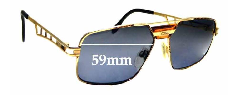 d8465375285 Sunglass Fix Replacement Lenses for Cazal Mod 746 - 59mm Wide ...