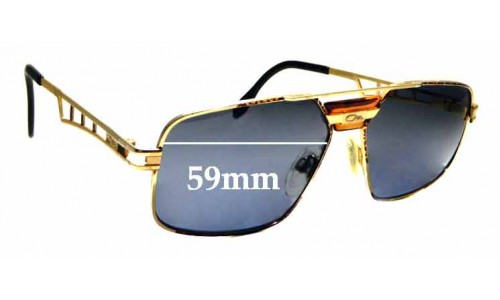 Sunglass Fix Replacement Lenses for Cazal Mod 746 - 59mm Wide