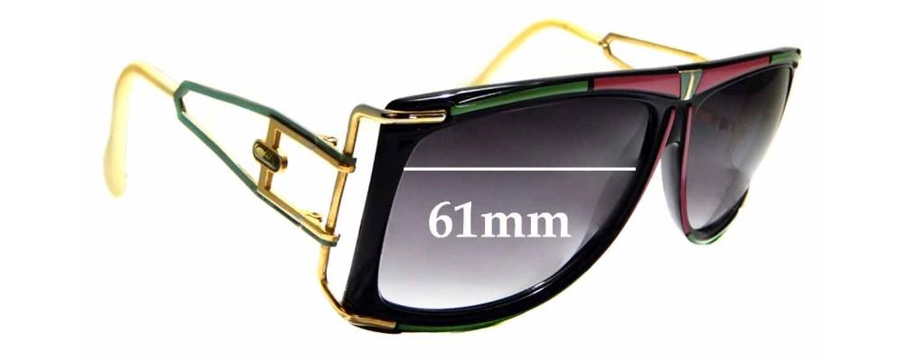 9e865d21875 Sunglass Fix Replacement Lenses for Cazal Mod 866 - 61mm Wide ...