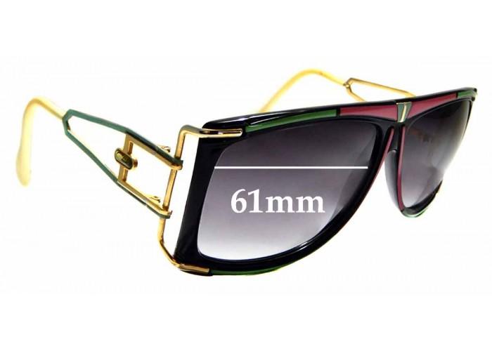 SFX Replacement Sunglass Lenses fits Cazal Mod 734 63mm Wide