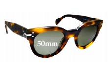 Sunglass Fix Replacement Lenses for Celine CL 41040/S - 50mm Wide