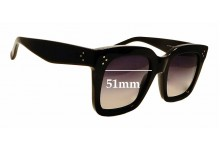 Sunglass Fix Replacement Lenses for Celine CL 41076/S - 51mm Wide