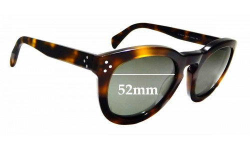 41801sreplacement Wide The Celine 55mm Lenses Fix™ Cl Sunglass By QrBeExodWC