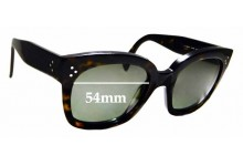 Sunglass Fix Replacement Lenses for Celine CL 41805/S - 54mm Wide