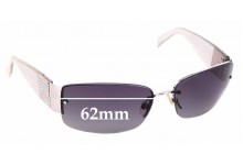 Sunglass Fix Replacement Lenses for Chanel 4117 B - 62mm wide