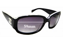 Sunglass Fix Replacement Lenses for Chanel 5144 - 59mm wide