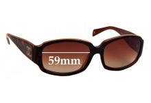 Sunglass Fix Replacement Lenses for Chanel 5144-A - 59mm wide