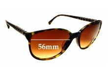 Sunglass Fix Replacement Lenses for Chanel 5207 - 56mm wide