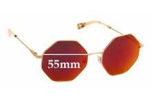 Sunglass Fix Replacement Lenses for Chloe CE 2134S - 55mm wide