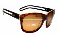 Sunglass Fix Replacement Lenses for Chloe CL 2124 - 55mm wide