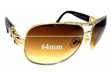 Sunglass Fix Replacement Lenses for Chopard SCH 693S - 64mm wide