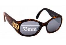Sunglass Fix Replacement Lenses for Christian Dior CD2958 41L  - 53mm wide