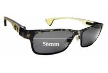 Sunglass Fix Replacement Lenses for Chrome Hearts Dixon YU-C- 56mm wide