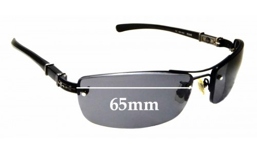 Sunglass Fix Replacement Lenses for Chrome Hearts Tail - 65mm Wide