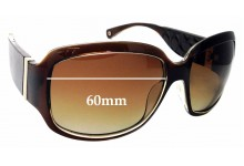 Sunglass Fix Replacement Lenses for COACH Christiana S618 - 60mm wide