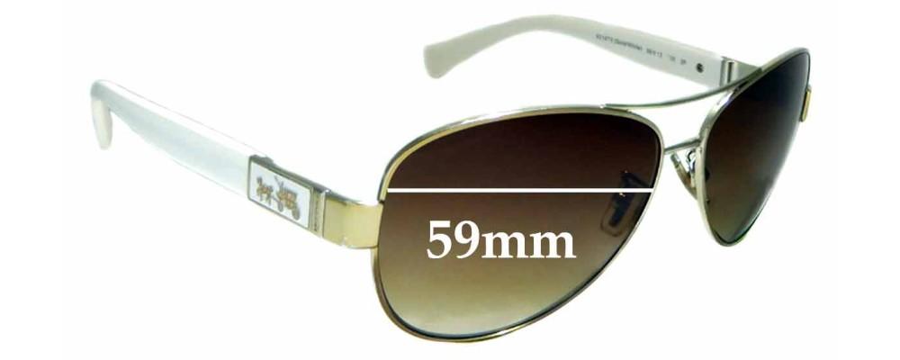 6d0ce2fdbf3d Coach Cristina HC 7047Replacement Lenses 51mm Wide by The Sunglass Fix™