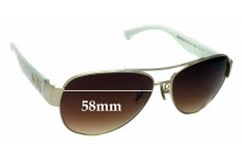 Sunglass Fix Replacement Lenses for Coach HC7049 Olivia - 58mm Wide