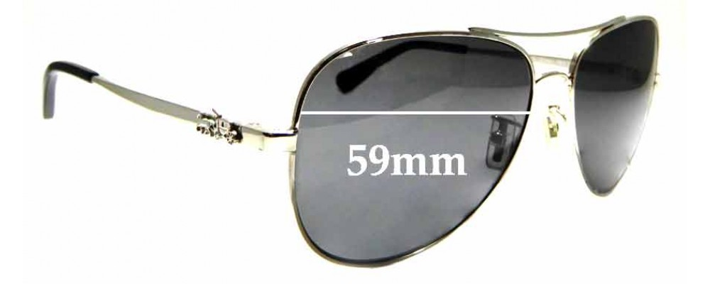 0b0666f498 Sunglass Fix Replacement Lenses for Coach HC 7074 - 59mm wide ...