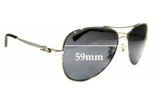 Sunglass Fix Replacement Lenses for Coach HC 7074- 59mm wide