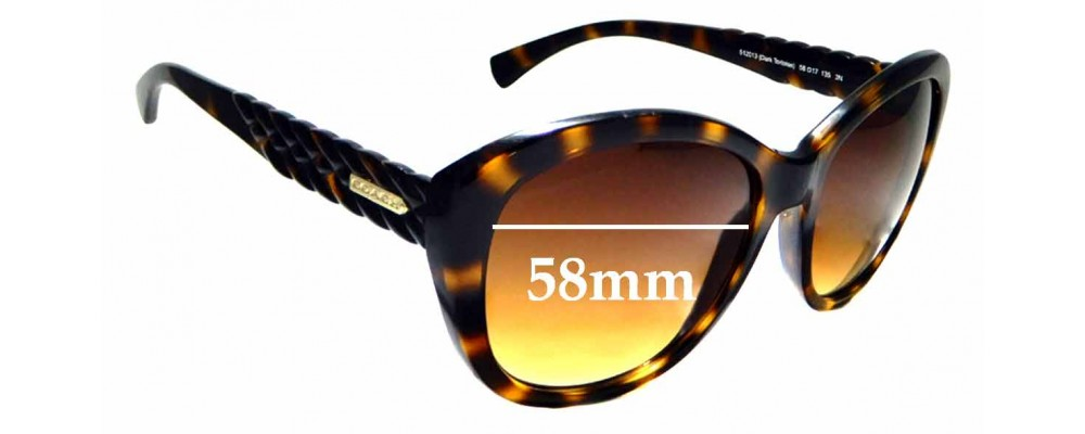 Sunglass Fix Replacement Lenses for Coach HC8142 - 58mm wide