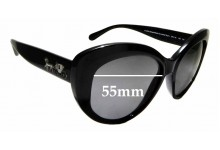 Sunglass Fix Replacement Lenses for Coach HC8206 - 55mm wide