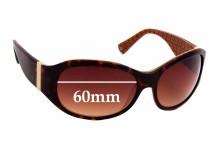 Sunglass Fix Replacement Lenses for Coach Lauren - 60mm wide