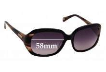 Sunglass Fix Replacement Lenses for Coach S2006 - 58mm wide