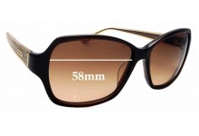 Sunglass Fix Replacement Lenses for COACH S2049 - 58mm wide