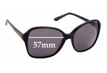 Sunglass Fix Replacement Lenses for Collette Dinnigan Sun Rx 08 - 57mm wide