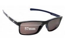 Sunglass Fix Replacement Lenses for Costa Del Mar Ocean Ridge - 57mm wide