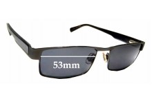 Sunglass Fix Replacement Lenses for Country Road CR 26 - 53mm Wide