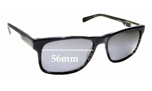 Sunglass Fix Replacement Lenses for Country Road CR Sun Rx 12 - 56mm Wide