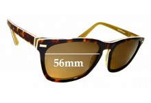 Sunglass Fix Replacement Lenses for Country Road CR Sun Rx 13 - 56mm Wide