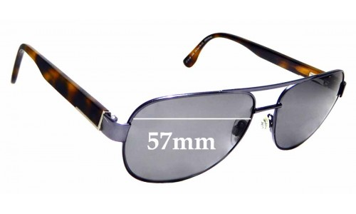 Sunglass Fix Replacement Lenses for Country Road CR SunRx 21 - 57mm Wide
