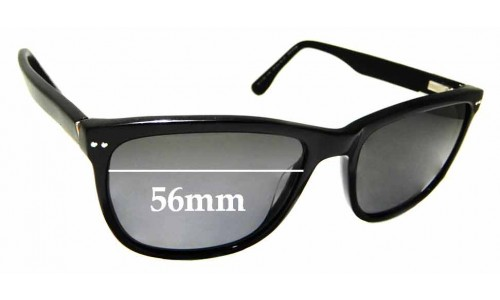 Sunglass Fix Replacement Lenses for Country Road CR Sun Rx 23 - 56mm Wide