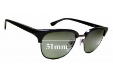 Sunglass Fix Replacement Lenses for Country Road CR Sun Rx 24 - 51mm Wide
