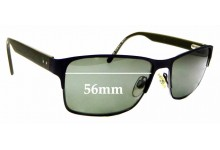 Sunglass Fix Replacement Lenses for Country Road CR SunRx 11 - 56mm Wide