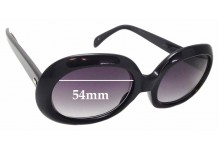Sunglass Fix Replacement Lenses for Cutler and Gross of London 0383 - 54mm wide
